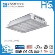 High Power Philips Chips 200 Watt LED Canopy Light