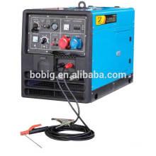 Hot sale 280A Silent diesel welding generator set BDW300SE