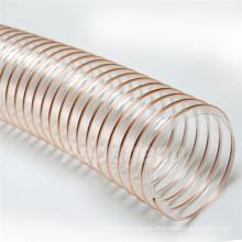 Mangueira revestida de cobre telescópica flexível do canal de ar do plutônio do fio de 0,4 milímetros