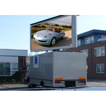 Mobiele LED-scherm Trailer Reclame Video Wall Screen