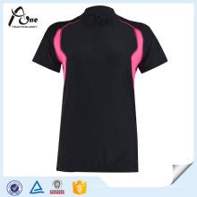 Gros femmes manches courtes chemises Custom Cyclisme Porter