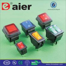 Daier 15A 250VAC KCD2 interruptor de balancim