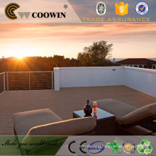 COOWIN Laminate Hardwood Flooring WPC Swimming Pool Decking