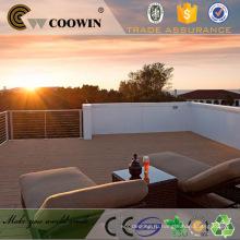 COOWIN WPC настила ламината деревянный бассейн настил