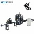 Angle iron cutting machine 45 degree punch machine