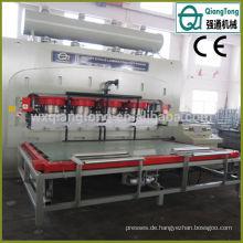 Automatische Deep Emboss Hot Press Floor Laminat Maschine