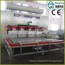 Woodworking Hot Platen MDF Hydraulic Press Machine