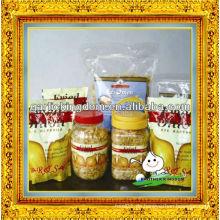 Zwiebeln zum Verkauf / Knusprig gebratene Zwiebel / Gebratene Zwiebelflocken