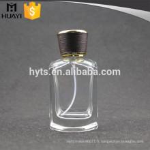 50ml fabricants de bouteilles en verre italie pour le parfum