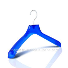 Japanese Transparent Turquoise Blue Plastic Hanger for Bedroom Furniture