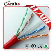 1000ft/Roll LSHF-FR Ethernet Cat 6 Cable ATM 155Mbps Network