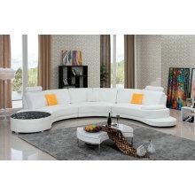 Moderne U-Form-Leder-Sofa (958)