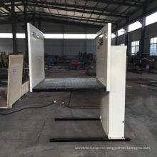 Home hydraulic wheelchair platform lift for old man vertical lift platform price