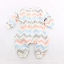 Six-Layer Gauze Baby Climbing Suit, Custom Design Colorful Soft Baby Romper