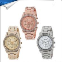 Nova chegada mulheres senhoras diamante moda relógio