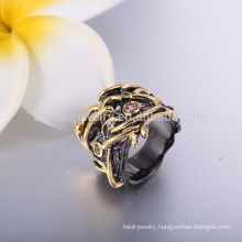 latest gold wedding rings black gold fashion mens black coral rings jewelry