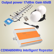3G G / M Repetidor / teléfono celular de la señal Amplifer GSM 850 repetidor CDMA850MHz