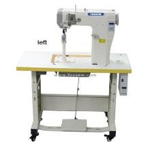 Máquina de costura resistente Lockstitch da cama alta pequena totalmente automático do cargo