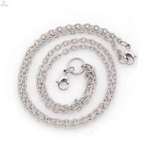 Neue Ankunft Hals Ketten für Frauen, Edelstahl Unendlichkeit Halskette