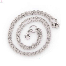 New arrival neck chains for women, stainless steel infinity necklace
