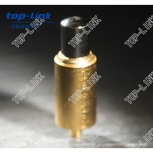 Pin de contacto personalizado de latón con carga de corriente pesada 5-20A
