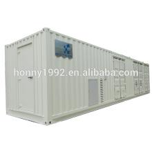 Subestación de transformador eléctrico de alto voltaje al aire libre