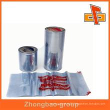 High technology printing PVC shrink plastic film, PVC film made in China