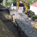 China Melhor Fabricante Gabion Retaining Wall System (GRWS)