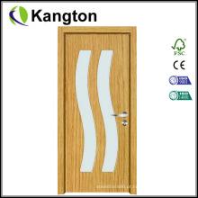 Portas de PVC do estilo europeu de PVC de boa qualidade (portas de PVC)
