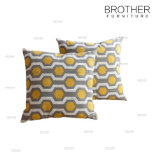 Home decoration fashion colorful back cushion for chair and sofa
