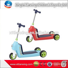 2015 Alibaba China Online Supplier New Model Plastic Two Foot Pedal Kids Mini Scooter
