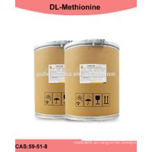 Fabricación de DL-metionina de alta calidad en polvo para aves de corral