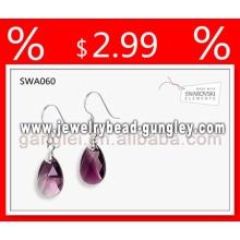 Genuine austrian crystal fashion earring