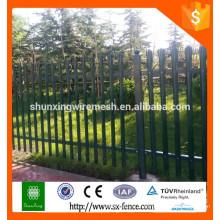 Conception de clôture en fer Alibaba / clôture en fer forgé à bas prix / clôtures en fer forgé d'occasion