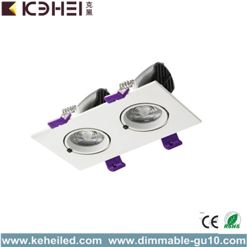 Downlight con LED Downlight con dos lámparas 2 * 12W IP20