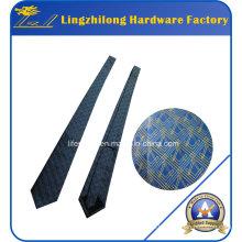 Corbata de encargo del lazo del logotipo del OEM del material de seda