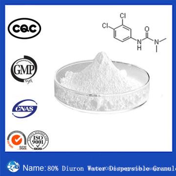 CAS no 330-54-1 El mejor herbicida agresivo herbicida del agua de Diuron del 80% vendió el gránulo dispersable del agua