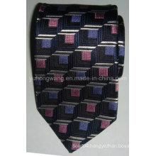 Fashionable Men Silk Woven Jacquard Necktie