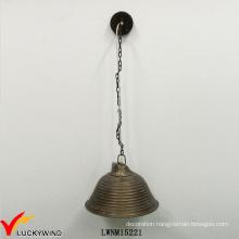 Retro Metal Iron Shape Affordable Popular Pendent Lighting