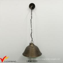 Ретро металлическая форма металла Доступное популярное подвесное освещение