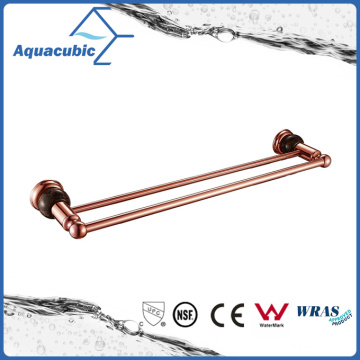 Wall Mount Double Towel Bar in Gold Rose (AA6514B)