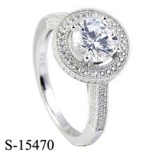 Joyería del anillo de la plata esterlina de la manera 925