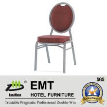 Cadeira de banquete de cor vermelha marrom (EMT-508)