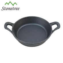 Vegetable Oil Cast Iron Mini Egg Fry Pan With Handle/Skillets/Cookware/Roasting Pans