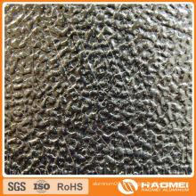 Concave-Convex / semi-sphérique / Classique Orange PEE / Flat-Top Pebble / ondulé / Wove Embossed Aluminium