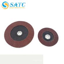 """Diferentes modelos de disco flap vertical de 4 """"para polimento com Desconto A"""