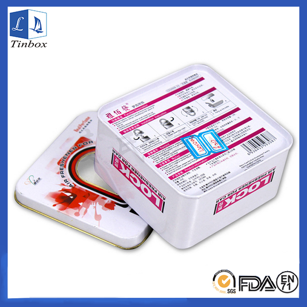 Printed Decorative Tin Containers Boxes