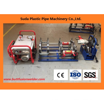 50-200мм стыковой сварки машина трубы HDPE для стыковой сварки машина