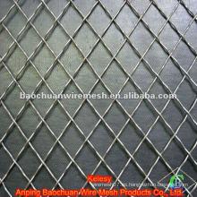 Malla de alambre prensada de plata con alta calidad y precio competitivo en la tienda
