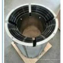 Protetor térmico do molibdênio mínimo de 99.95% para a fornalha do crescimento de cristal da safira